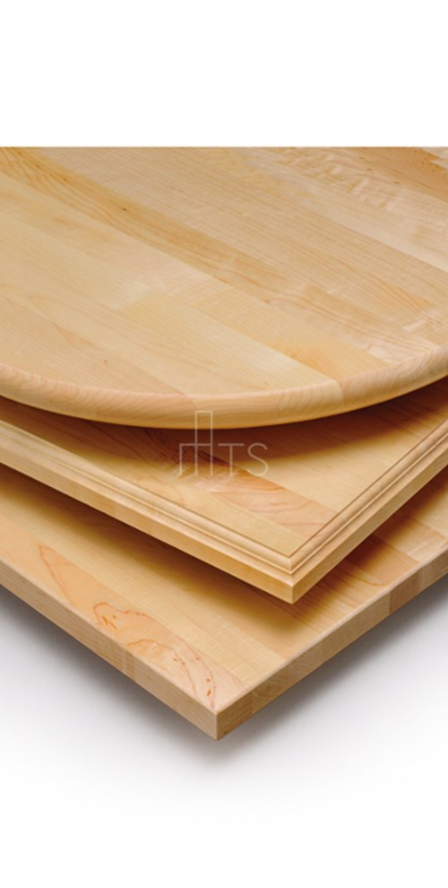 "371 Maple Butcher Block, 1-1/4"" Bullnose Edge"