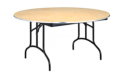 425 Round Arched Leg Banquet Table