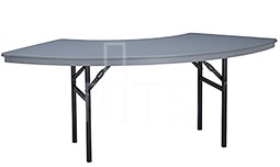 445 Crescent Shaped Banquet Table