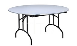 465 Round Arched Leg Banquet Table