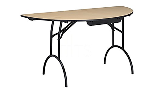 425 Half Round Banquet Table