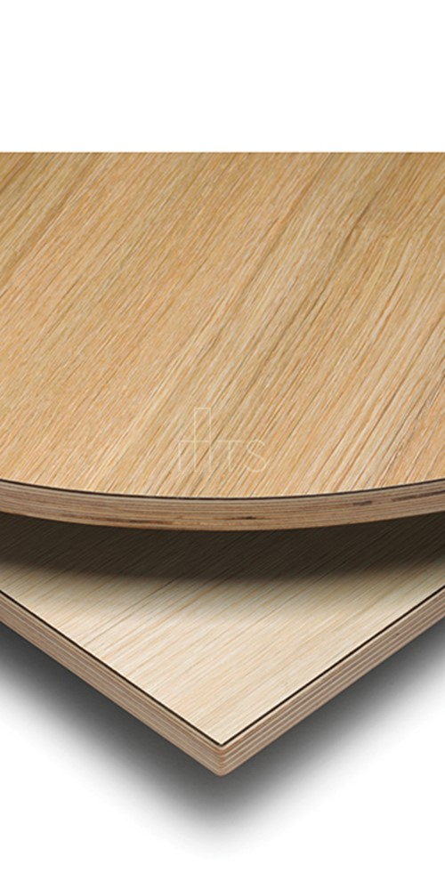 355 Slimline Square Eased Edge Birchply Tabletop